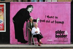 I want to grow old at home